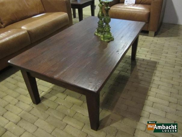 Rustiek salontafel eiken