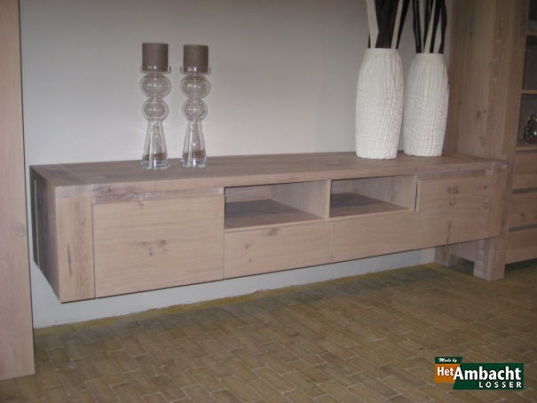 Stoer TV dressoir eiken