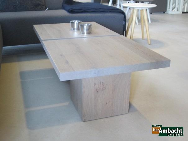 4-KANT salontafel eiken